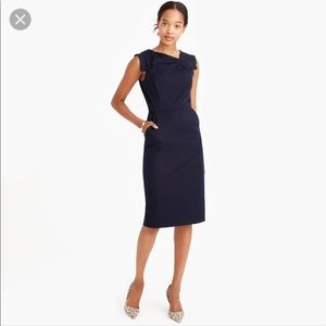 J. Crew promotion dress size 00 EUC in black